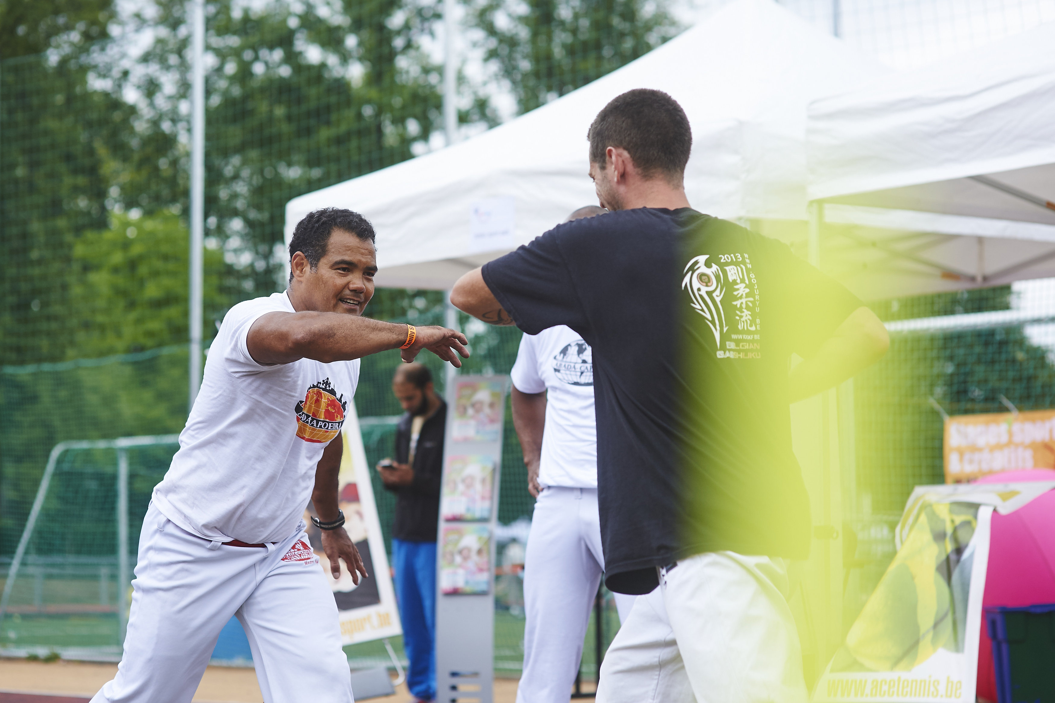 Pratiquez la capoeira