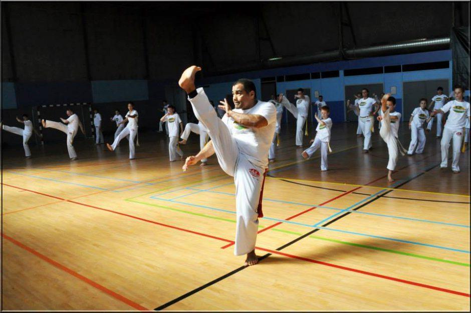 Mestrando Tigre - cours de capoeira